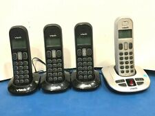 VTech 6199-42 Phone System with 4 Cordless Handsets Answering System Caller ID