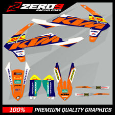 KTM EXC EXC-F 125 250 350 450 MOTOCROSS MX GRAPHICS SPLIT KIT DHL