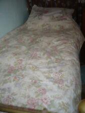 Horrockses vintage reversible floral   single duvet cover  & 2 pillowcases