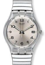 Swatch Gent Flex Silverall, Bandlänge: Large GM416A Neuware