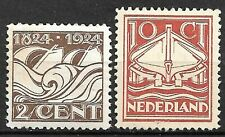 NEDERLAND; NVPH  139/140 ongebruikt/*/MLH