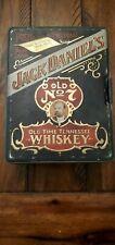 Vintage Jack Daniels Whiskey Poker Chip Set in Hudson Scott & Sons Tin COMPLETE