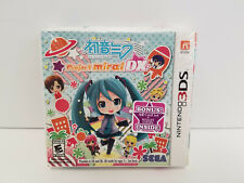 Hatsune Miku Project Mirai DX  Launch Edition Nintendo 3DS 2015 New Sealed