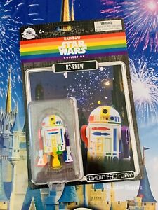 Disney Parks Exclusive Star Wars Rainbow Pride R2-RN8W Rainbow Droid Factory NEW