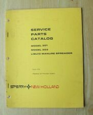 New Holland 301 Amp 303 Liquid Manure Spreader Service Parts Catalog Manual