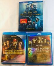 3 Movies: pirates of the Caribbean:dead men tell no tales, worlds end, Pearl