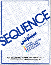 SEQUENCE BOARD GAME Family Party Board Game Cards Against Humanity Fun Gifts
