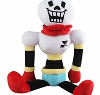 """Papyrus Undertale 14"""" Plush Stuffed Doll Toy Hugger Cushion Cosplay Toy Gifts"""