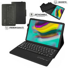"""Keyboard Leather Case +Stand for Samsung Galaxy Tab A 10.1"""" 2019 SM-T510 SM-T515"""