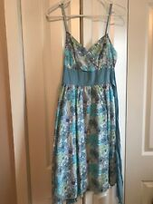 Derek Heart floral sundress with bow Size M