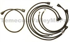 Lacquered Cotton Spark Plug Wires for 1933-1942 Plymouth - Dodge