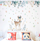Colorful Flowers Wall Stickers Home Decoration Art Wall Stickers For Livingroom