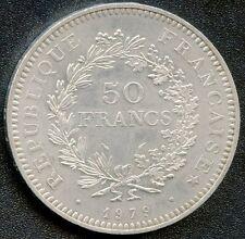 1977 France 50 Francs Silver Coin (30 grams .900 Silver)