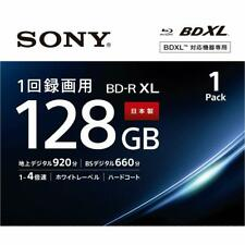 1pack Sony BD-R Printable HD Blu-Ray 4x Blank Disc Media BDR 128GB Japan