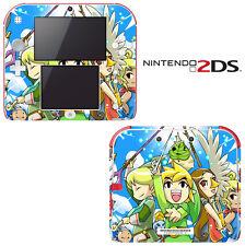 Vinyl Skin Decal Cover for Nintendo 2DS - The Legend of Zelda: The Wind Walker