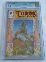 Turok # 1 CGC 9.8 Valiant Validated Signature Series (VVSS) 2x Sigs Bart Sears
