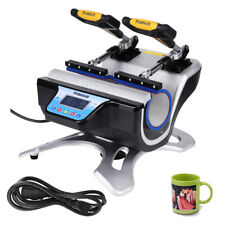 Digital Double Station Mug Heat Press For 11OZ Cup Sublimation Printing Machine