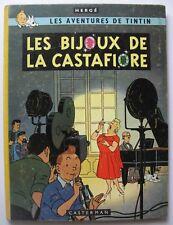 Tintin - Les Bijoux de la Castafiore - B 34 - 1963 - EO Belge - Hergé - BE++