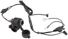 BikeMaster 136A 12 Volt Power Point Adapter & Mount 12v Cigarette Plug Charger