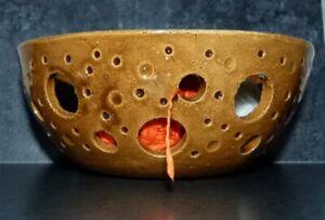 Wollschale-Durchmesser17cm-Garnschale Yarn Bowl UNIKAT Häkeln Stricken Keramik67