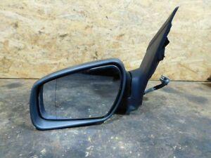 Spiegelkappen Set rechts links Ford Focus 2+3 Mondeo 4 in schwarz glänzend