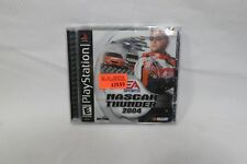 Nascar Thunder 2004 EA Sony Playstation 1 PS1 Video Game Disc Brand New Unopened
