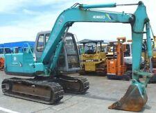 KOBELCO SK60 Escavatore servizio manuale SU CD * SPEDIZIONE GRATUITA *