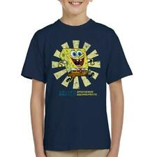 SpongeBob SquarePants Retro Japanese Kid's T-Shirt