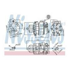 Fits Audi A6 Allroad C6 4.2 FSI Quattro Genuine Nissens A/C Air Con Compressor