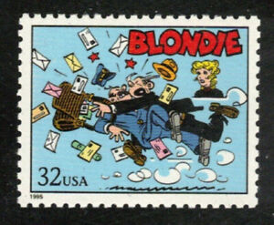Scott  #3000-l... 32 Cent....Comics...Blondie ..Mint NH