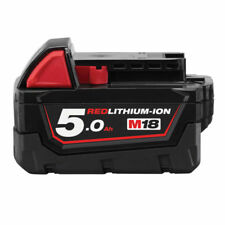 Milwaukee M18B5 18 V 5.0 Ah Red Li-ion Battery