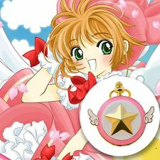 Card Captor Cardcaptor Sakura Kinomoto Star Wings Pocket Watch Chain Watch Anime