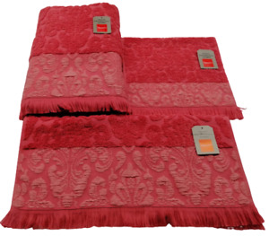 Elegant design,100% Combed coton, Soft touch towels, Environment friendly colors