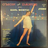EARL BOSTIC C'mon Dance With LP KING Stereo DG Jazz Cheesecake Cover VG+