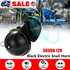 New 300DB 12V Electric Snail Air Horn Loud Sound For Car Motorcycle Truck Boat