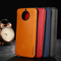 Case for Motorola Moto G5S G5S Plus Luxury Vintage leather Skin with soft cover