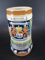 Bayern Bavaria Chope à Bière Krug Bière Cruche 0,7 Ltr. Souvenir Germany, Neuf