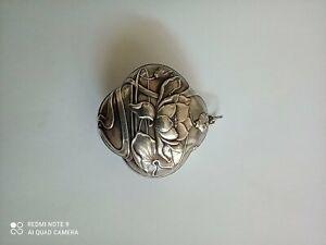 Very Rare Victorian Silver Box