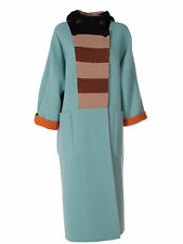 MAX MARA Women's Vivetta Orange Reversible Felted Wool Coat Sz 4 $3,890 NWT