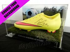 ✺Signed✺ ADRIAN MIERZEJEWSKI Football Boot PROOF COA Sydney FC 2018 Jersey