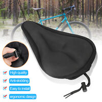 Bike Seat Cushion Cover Soft Padded Mountain Bicycle Saddle Comfort Seat Cover
