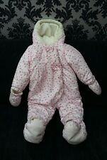 Baby Girl 9-12 months Snowsuit Rrp £16