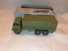 Vintage Dinky Toy 10 Ton Army Truck 622 With Original Box In Good Condition