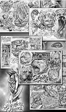 Tattoovorlagen 300 Seiten Boog Tattoo Flash CD Motive chicano style Neu DOWNLOAD