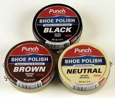 Punch 1801200102 Shoe Polish Black 40ml