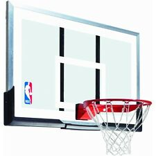 Spalding Basketball Backboard and Rim Combo 54-inch Acrylic with Arena Slam Rim