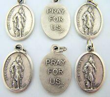 Petite Saint St Florian Pray For Us Religious Medal Christian Pendant LOT 6