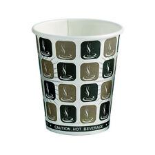 8 OZ (approx. 226.79 g) lo último Taza de Papel Desechable x 1000 Cafe Moka Diseño