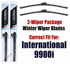 WINTER Wipers 2-pack fits 2000+ International 9900i 35-220x2
