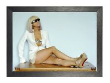 Lady Gaga 3 American Singer Pop Dance Poster Music Star Photo Fashion Glasses